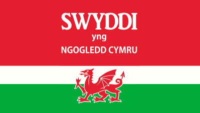 Welsh bilingual advert on Jobs in North Wales